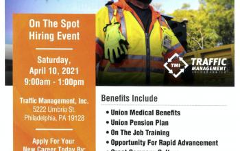 Traffic Management Inc Job Fair 04/10/21