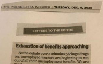 Exhaustion of benefits approaching
