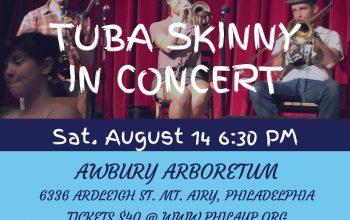 Tuba Skinny in Concert 8/14/21 in Philadelphia – Buy tickets